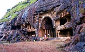 The Bhaja And Karla Caves in khandala